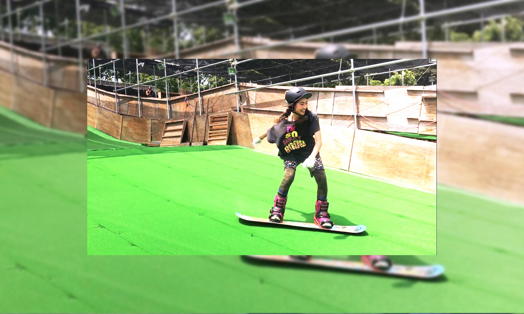 スキー、スノーボード練習場 BRUSH? PARKS